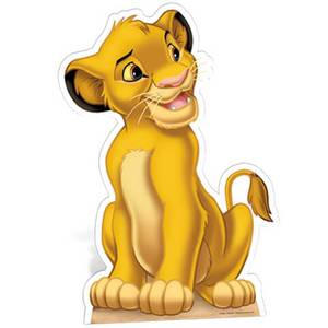 Disney Classic Simba Star Mini Cut Out