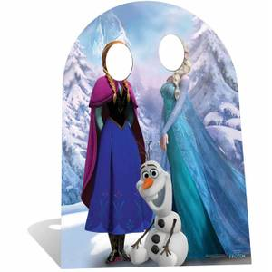 Disney Frozen Stand In Cut Out - Child Size