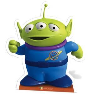Mini Silhouette Découpée en Carton Petit Homme Vert Toy Story