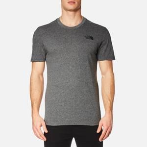 The North Face Men's Simple Dome Short Sleeve T-Shirt - TNF Medium Grey Heather