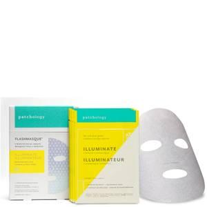 Patchology FlashMasque Illuminate - 4-Pack (Worth $32)