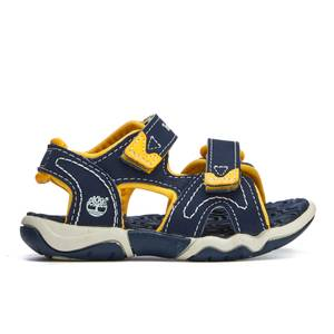 Timberland Toddlers' Adventure Seeker 2 Strap Sandals - Navy With Yellow