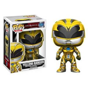 Power Rangers Movie Yellow Ranger Funko Pop! Vinyl