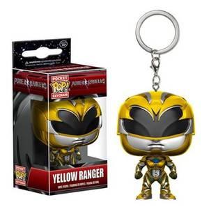 Power Rangers Movie Gelber Ranger Pocket Pop! Schlüsselanhänger