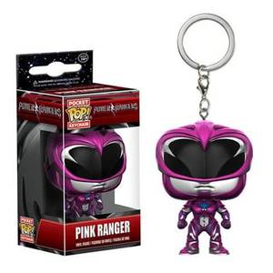 Power Rangers Movie Pink Ranger Pocket Funko Pop! Keychain