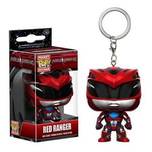 Power Rangers Movie Roter Ranger Pocket Pop! Schlüsselanhänger