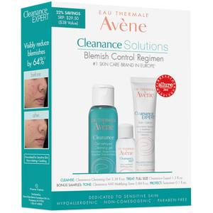 Avène Cleanance Solutions: Blemish Control Regimen (Worth $38)