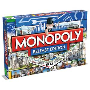 Monopoly Board Game - Belfast Edition