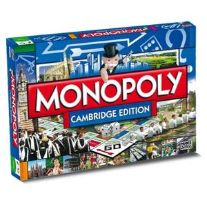 Monopoly Board Game - Cambridge Edition
