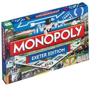 Monopoly Board Game - Exeter Edition