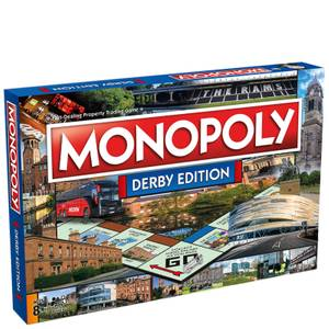 Monopoly Board Game - Derby Edition