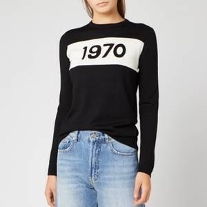Bella Freud Women's 1970 Merino Jumper - Black