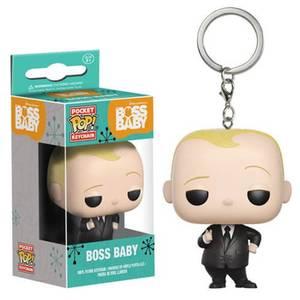 Boss Baby Suit Version Pocket Pop! Schlüsselanhänger