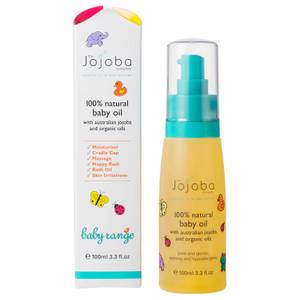 The Jojoba Company 100% Natural Baby Oil 100ml