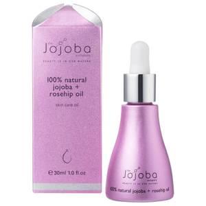 The Jojoba Company 100% Natural Jojoba & Rosehip Oil 30ml