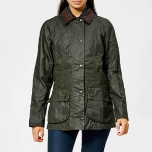 Barbour Women's Beadnell Wax Jacket - Olive