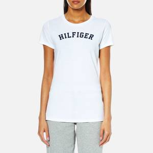 Tommy Hilfiger Women's Short Sleeve Print T-Shirt - White