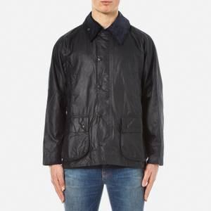 Barbour Heritage Men's Bedale Wax Jacket - Navy