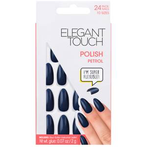 Elegant Touch Core Polish Nails - Petrol