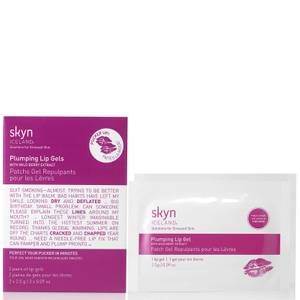 skyn ICELAND Plumping Lip Gels with Wild Berry Extract (2 Pack)