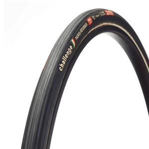 Challenge Paris Roubaix 300 TPI Clincher Road Tyre - Black/Tan - 700c x 27mm