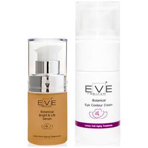 Антивозрастная сыворотка Eve Rebirth Botanical Bright & Lift Serum и крем Eve Rebirth Botanical Eye Contour Cream