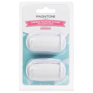 Magnitone London Well Heeled! Express Pedicure Ersatzrollerkopf Regular (2er Pack)