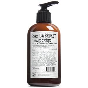 L:A BRUKET Sage/Rosemary/Lavender Hand Cream 240ml