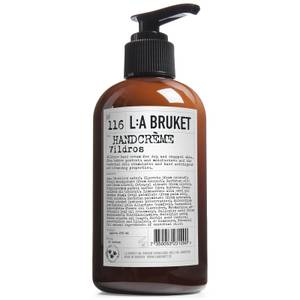 L:A BRUKET Hand Cream 250ml - Wild Rose