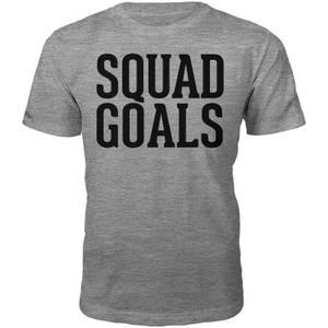 T-Shirt Unisexe Squad Goals -Gris