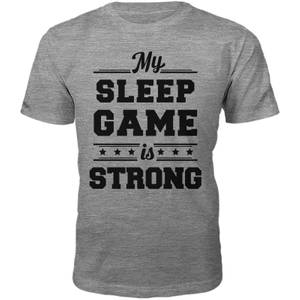 T-Shirt Homme Sleep Game -Gris