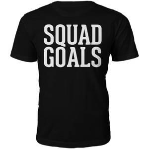 T-Shirt Unisexe Squad Goals -Noir