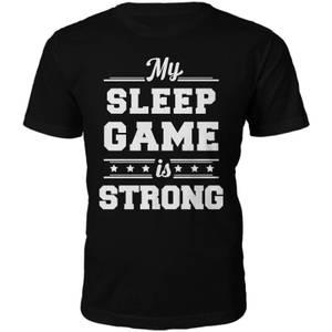 Männer Sleep Game T-Shirt - Schwarz