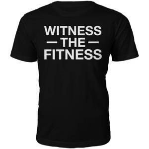 Männer Witness The Fitness T-Shirt - Schwarz