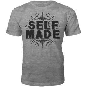 Männer Self Made T-Shirt - Grau