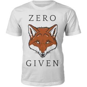 Männer Zero Fox Given T-Shirt - Weiß