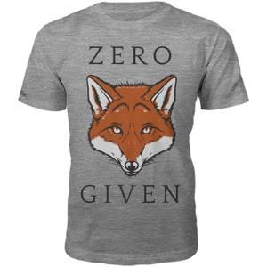 Männer Zero Fox Given T-Shirt - Grau