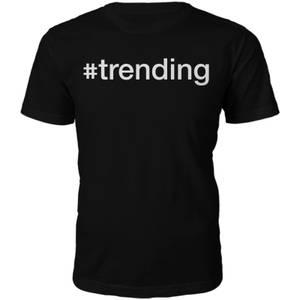 Männer #Trending T-Shirt - Schwarz