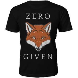 Männer Zero Fox Given T-Shirt - Schwarz