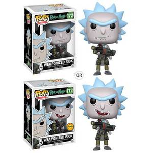 Rick and Morty Weaponized Rick Funko Pop! Vinyl