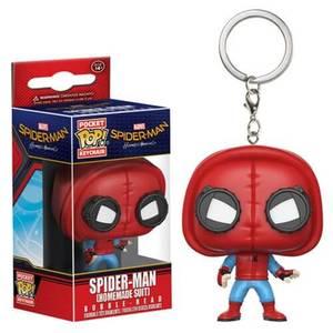 Spider-Man Homemade suit Pocket Pop! Vinyl Keychain