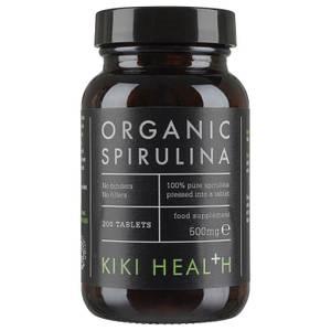 KIKI Health compresse di alga spirulina biologica (200 compresse)