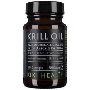 Масло морского криля в мягких капсулах KIKI Health Krill Oil Softgels (30 капсул)