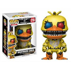 Five Nights at Freddy's Nightmare Chica Funko Pop! Vinyl