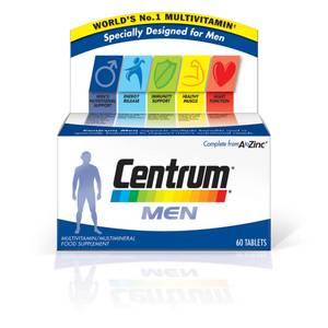 Centrum Men Multivitamin Tablets – (60tabletter)