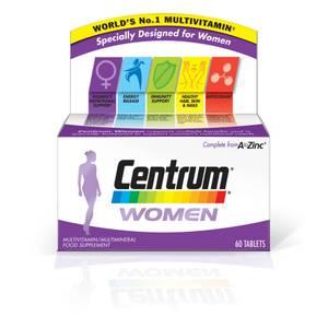 Centrum Women Multivitamin suplement multiwitaminowy dla kobiet (60 tabletek)