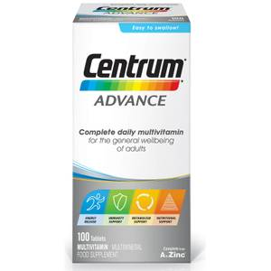 Centrum Advance Multivitamin suplement multiwitaminowy (100 tabletek)