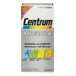 Centrum Advance Multivitamin Tablets(센트룸 어드밴스 멀티비타민 태블릿 60정)