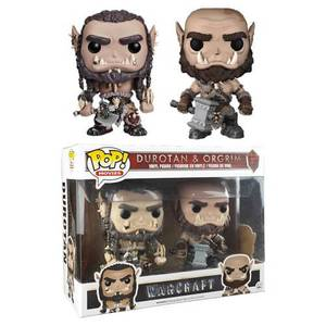Warcraft Durotan & Ogrim 2-Pack EXC Figura Pop! Vinyls