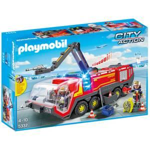 Playmobil Flughafenlöschfahrzeug mit Licht und Sound (5337)